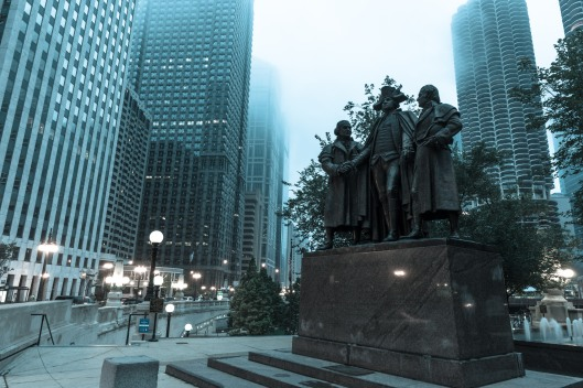 George Washington, Robert Morris and Hyam Salomon MemorialHeald
